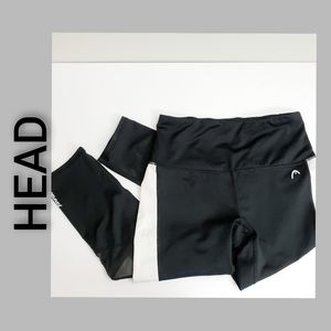 Head Workout Joggers Black White Size Small